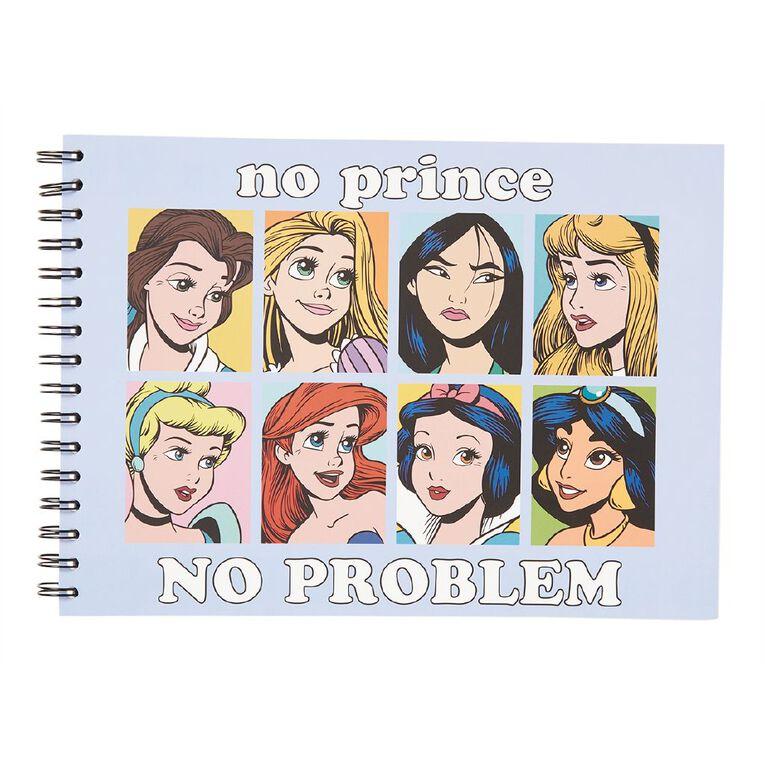 Disney Princess Sketchpad Light Blue A4, , hi-res