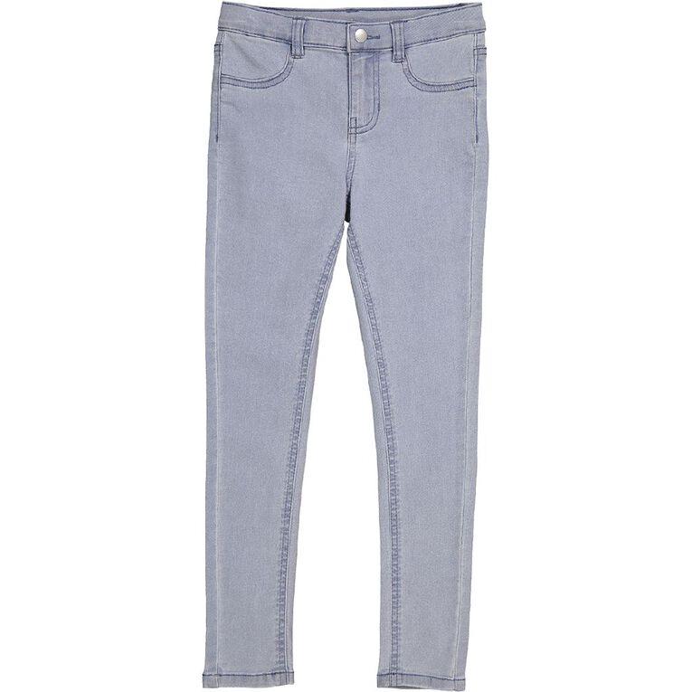 Young Original Girls' Stretch Skinny Jeans, Denim Light, hi-res image number null