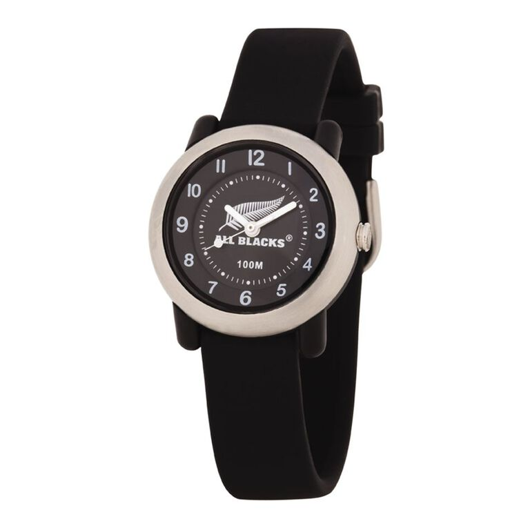 All Blacks Kids Analogue Silicone Watch Black, , hi-res image number null