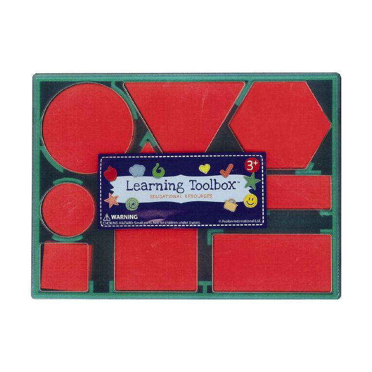 Learning Tool Box Attribute Blocks 60pieces, , hi-res