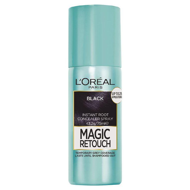 L'Oreal Paris Magic Retouch Black 75ml, , hi-res