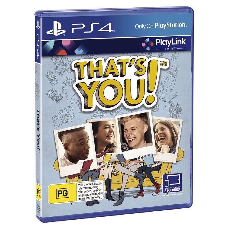 PS4 That's You, , hi-res