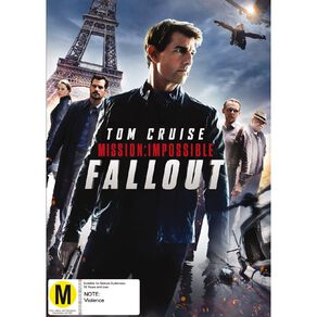 Mission Impossible 6 Fall Out DVD 1Disc