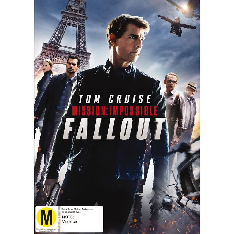 Mission Impossible 6 Fall Out DVD 1Disc, , hi-res