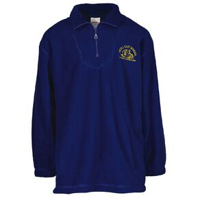 Schooltex Argyll East 1/4 Zip-Thru Top with Embroidery
