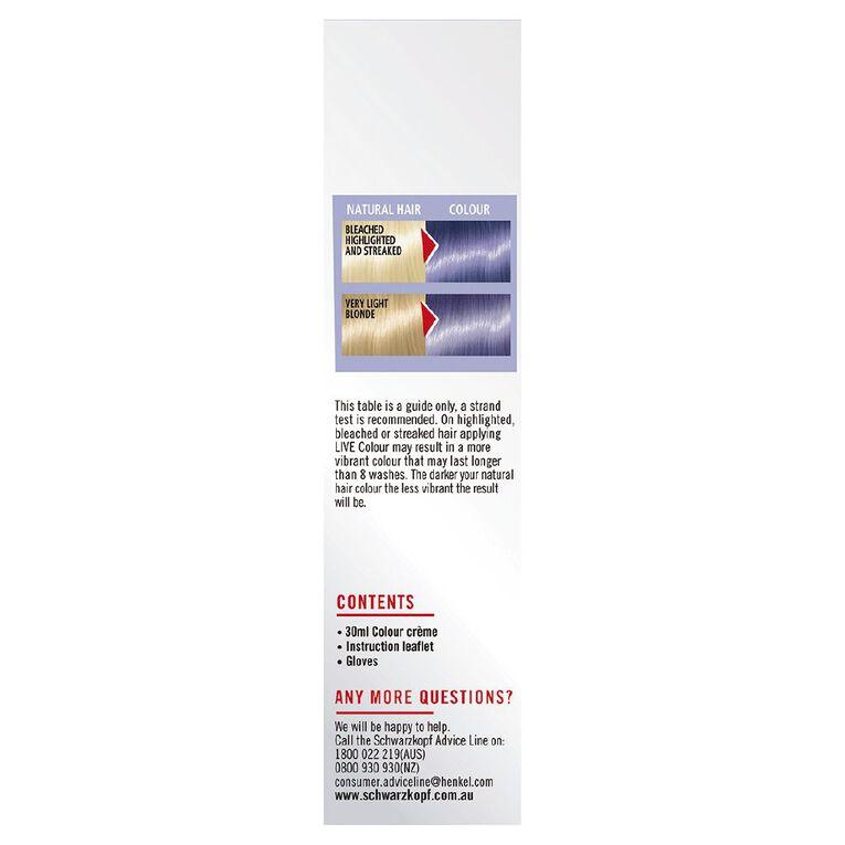 Schwarzkopf LIVE Colour Pastels Dusty Lavender, , hi-res