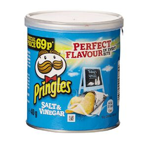 Pringles Salt And Vinegar 40g