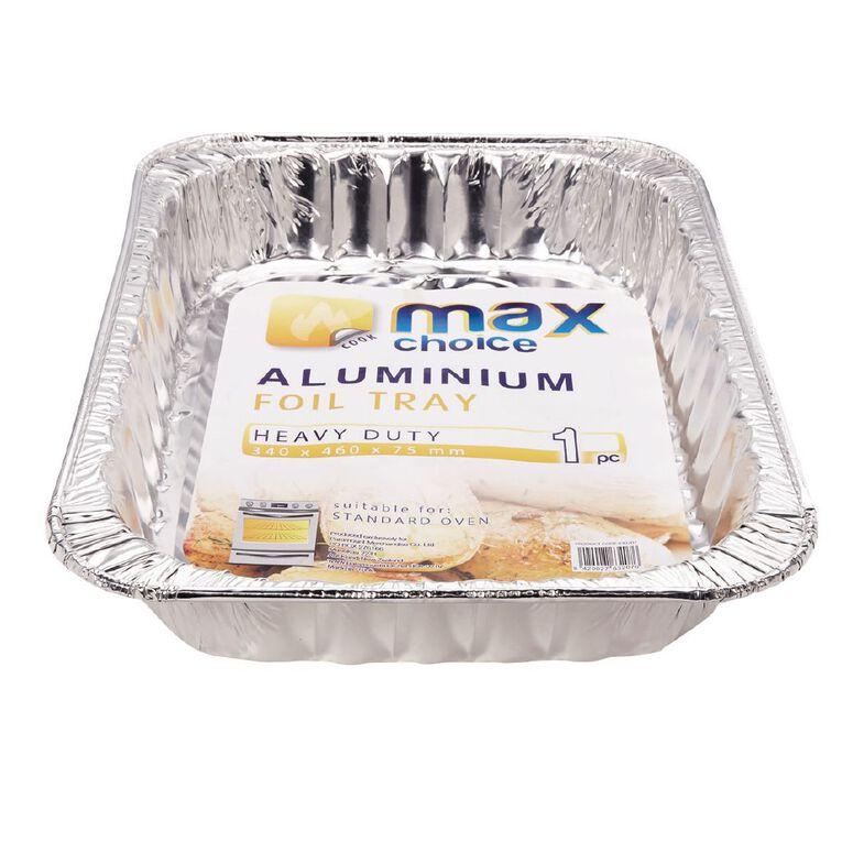 Max Choice Foil  Rectangular Roast Pan, , hi-res