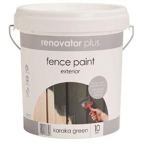 Renovator Plus Fence Paint Karaka 10L