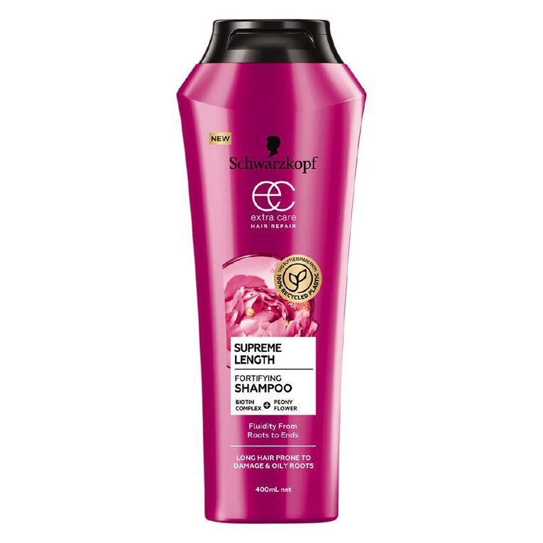 Schwarzkopf Extra Care Supreme Length Shampoo 400ml, , hi-res