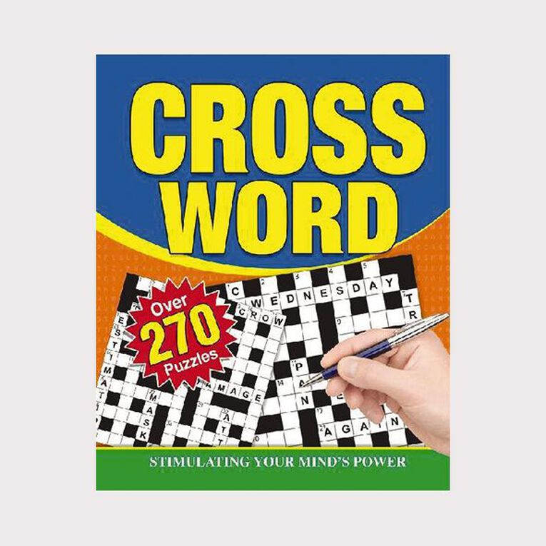Crossword Puzzles Spiral 256 page, , hi-res