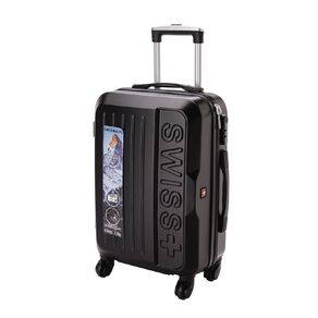 Swiss Stripe Hard Suitcase