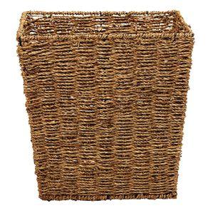 Living & Co Seagrass Square Basket Natural Medium