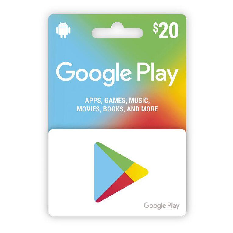 Google Gift Card $20, , hi-res image number null