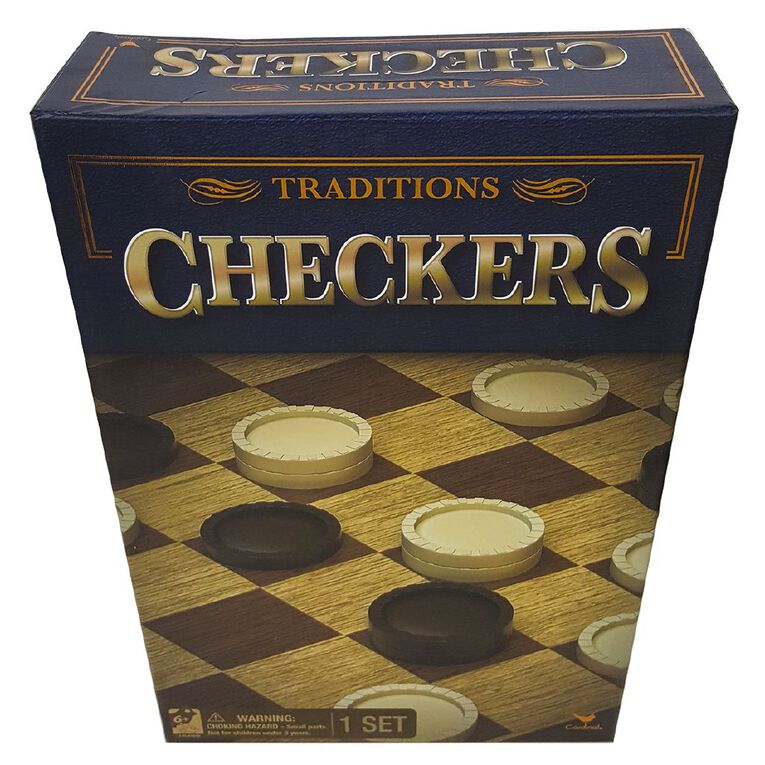 Traditions Checkers Game, , hi-res