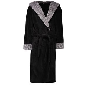 H&H Men's Shaggy Robe