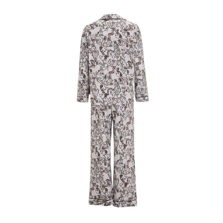 101 Dalmatians Disney Women's Fleece Pyjamas, White, hi-res