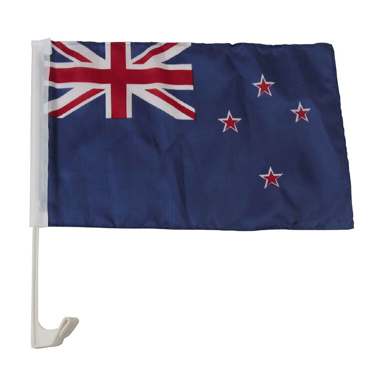 Active Intent NZ Car Flag 30 x 45cm, , hi-res