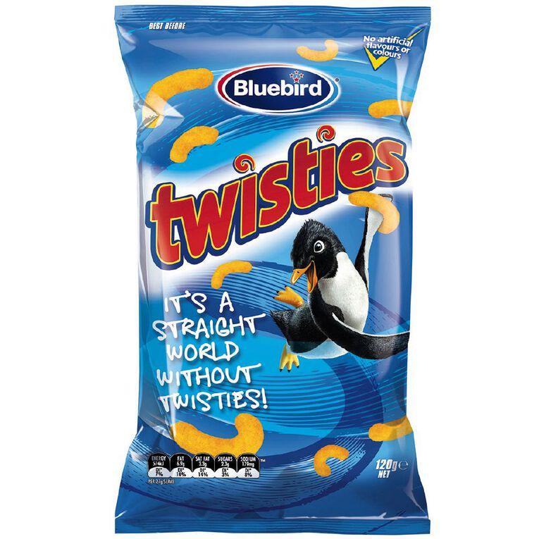 Bluebird Twisties Cheese 120g, , hi-res