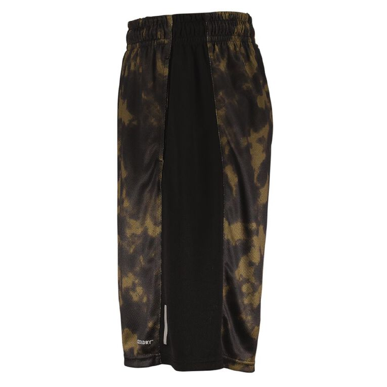 Active Intent Men's Printed Basketball Shorts, Green Dark, hi-res image number null