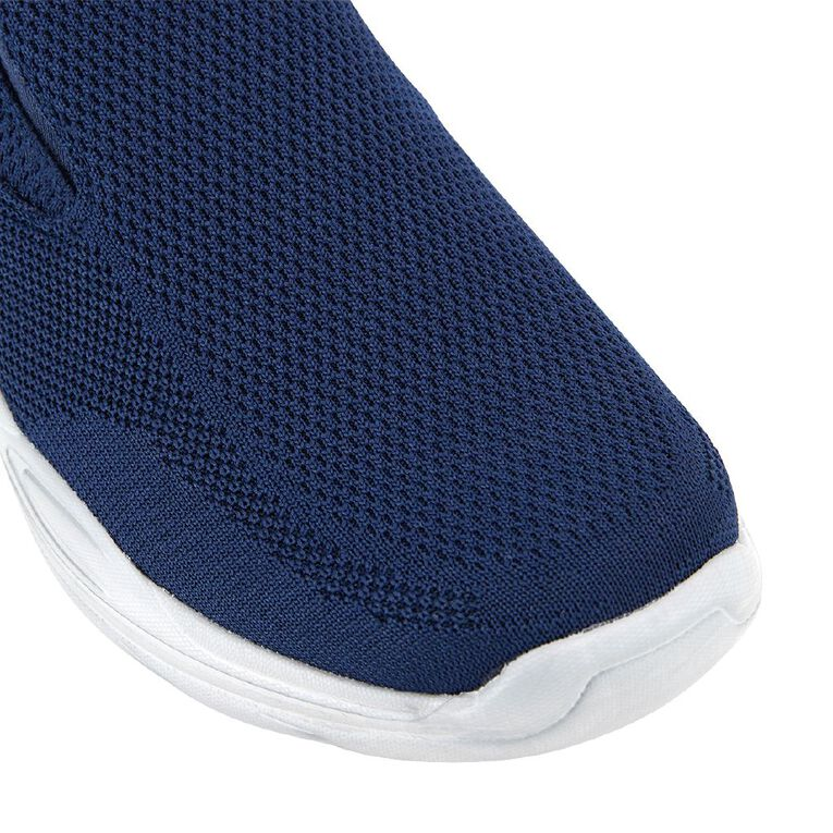 H&H Favre Wide Fit Shoes, Navy, hi-res
