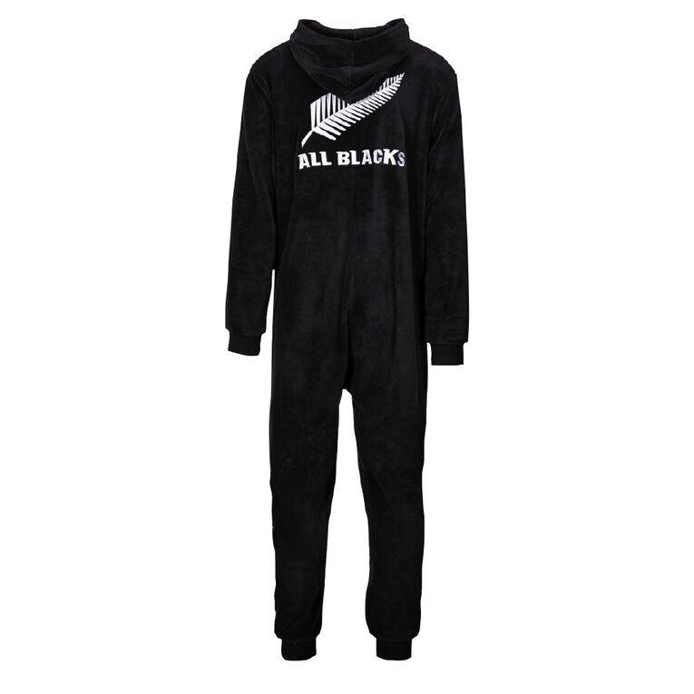 All Blacks Coral Fleece Adult Onesie, Black, hi-res