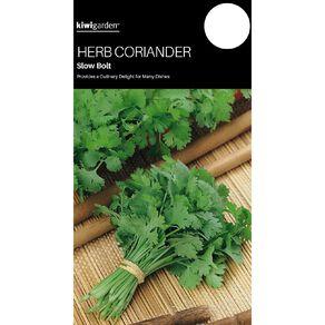 Kiwi Garden Herb Coriander Slow Bolt