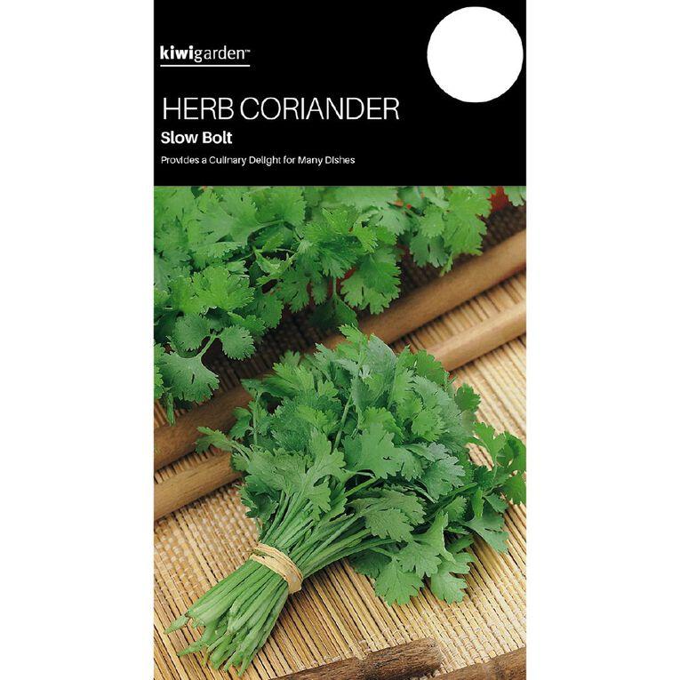 Kiwi Garden Herb Coriander Slow Bolt, , hi-res