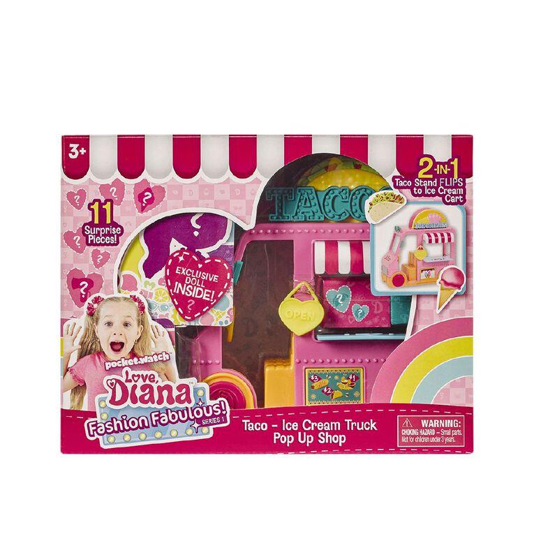 Love Diana Pop Up Playset Assorted, , hi-res