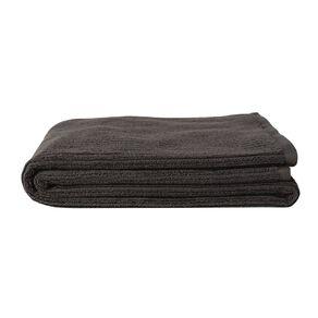Living & Co Bath Towel Organic Ribbed Grey 65cm x 135cm