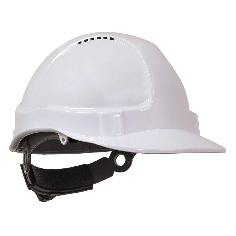 Esko Tuff-Nut Ratchet Hard Hat White, , hi-res