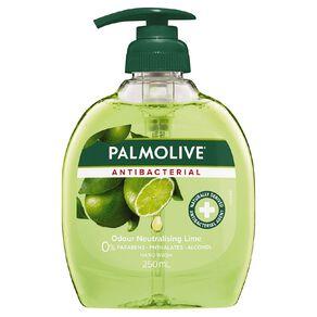 Palmolive Antibacterial Liquid Hand Wash Pump Lime  250ml