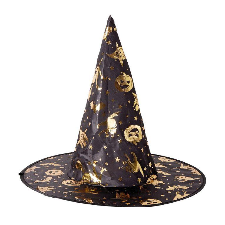 Play Studio Witch Hat Black/Gold, , hi-res
