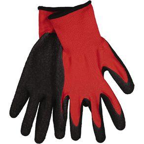 Kiwi Garden Textured Latex Rubber Gloves L-XL