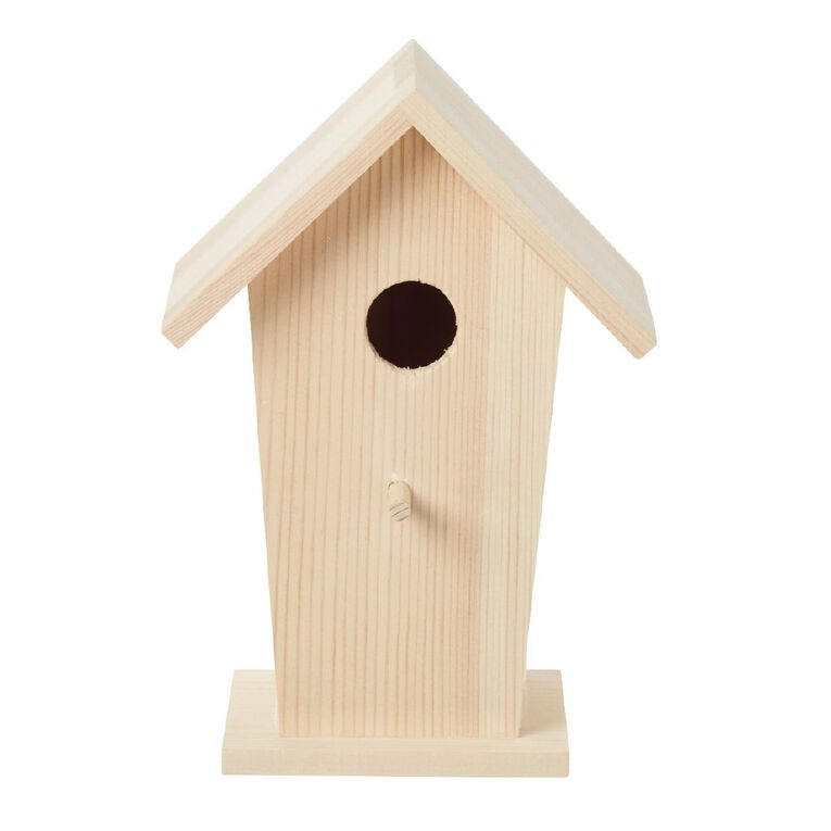 Uniti DIY Wooden Bird House, , hi-res