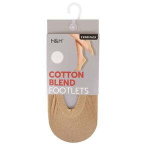 H&H Women's Seam Free Footlets