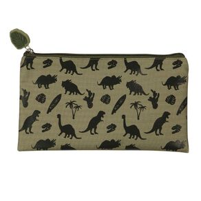 WS Pencil Case Flat Dinosaurs