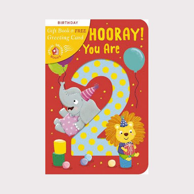 Hip Hip Hooray! You Are 2! by Angelika Scudamore, , hi-res