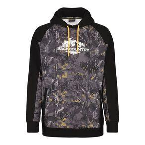 Back Country Pullover Hood Camo Print Sweatshirt