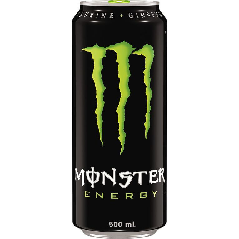 Monster Energy Drink Can Green 500ml, , hi-res
