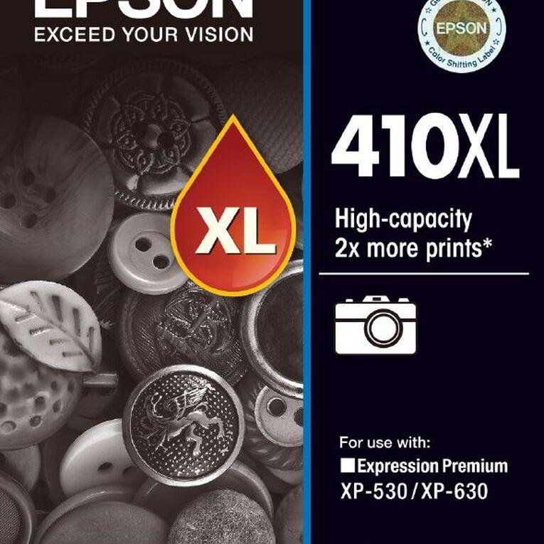Epson Ink 410XL Photo Black (530 Pages), , hi-res