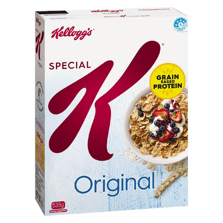Kelloggs Special K Original Cereal 535g, , hi-res