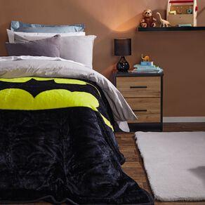 Batman Blanket Mink Printed Multi-Coloured Single