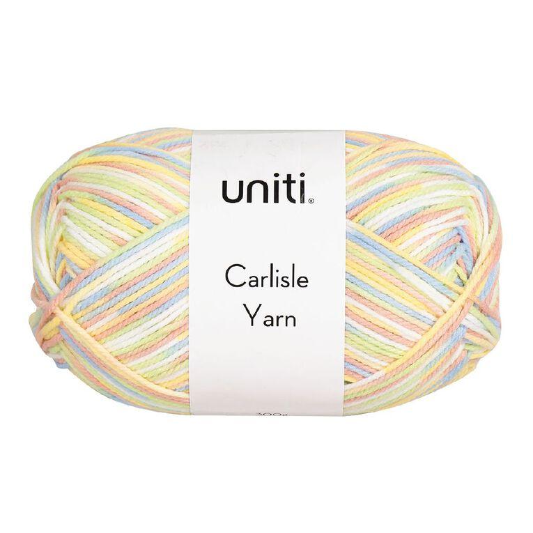 Uniti Yarn Carlisle Pastel 12 Ply Multi-Coloured 300g, , hi-res