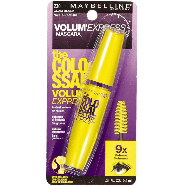 Maybelline Colossal Volumizing Mascara Glam Black, , hi-res