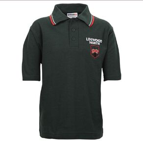 Schooltex Linwood North Short Sleeve Polo with Embroidery