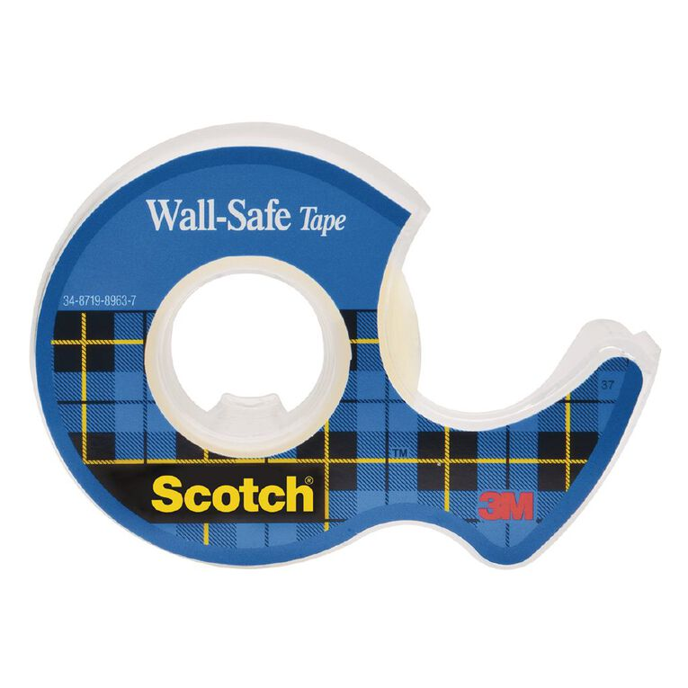 Scotch Wall-Safe Tape 19mm x 16.5m, , hi-res