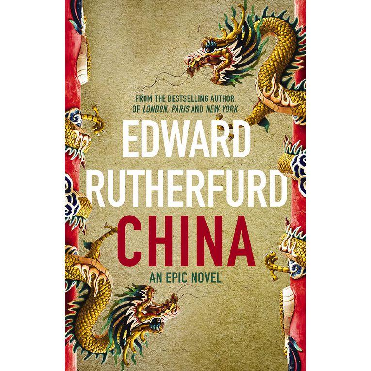 China by Edward Rutherfurd, , hi-res
