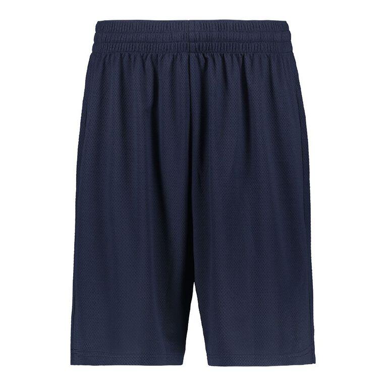 Active Intent Men's Basketball Shorts, Navy, hi-res