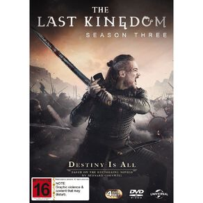 The Last Kingdom Season 3 DVD 3Disc